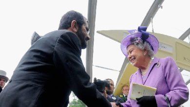 هدايا حاكم دبي لملكة بريطانيا رغم الانتهاكات الحقوقية