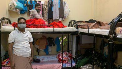 أحد مساكن العمالة الوافدة في دبي