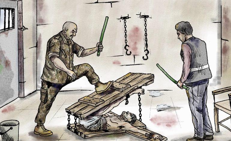 تقرير يرصد تعذيب المعتقلين السوريين في لبنان