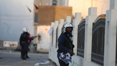 عناصر من وزارة الداخلية البحرينية