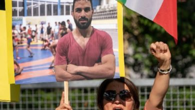 رياضيون إيرانيون يحثون الألعاب الأولمبية على التحقيق