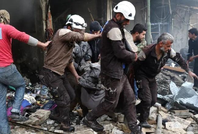 النظام السوري استخدم الأسلحة الكيماوية في ريف إدلب