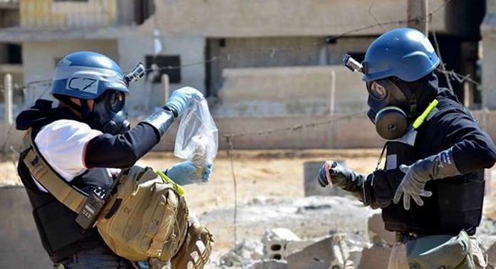 سوريون ضحايا هجمات الأسلحة الكيماوية