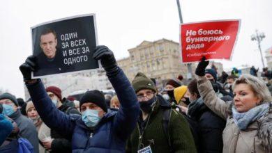 روسيا تعتقل 1000 ناشط متضامن مع أليكسي نافالني