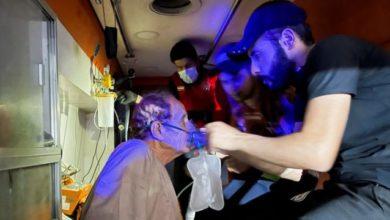 حريق مستشفى ابن الخطيب بالعراق