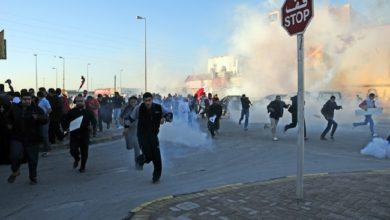 مظاهرات في 18 منطقة في البحرين تضامنًا مع السجناء السياسيين