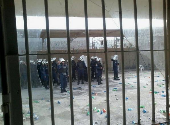 سجناء سجن جو بلا تدابير وقائية مع تفشي فيروس الجائحة