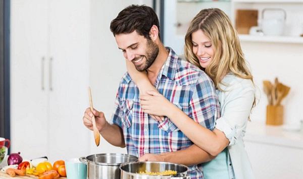 المشاركة في الأعمال المنزلية