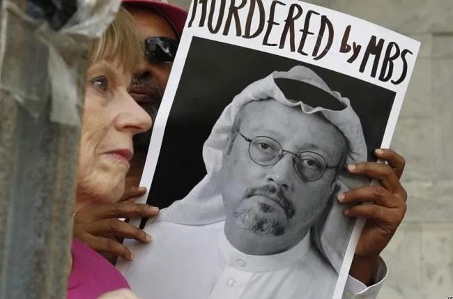 نشطاء يحيون ذكرى اغتيال جمال خاشقجي