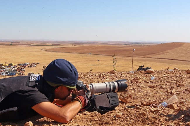 العمل الصحفي في سوريا بمثابة ثقبٌ أسود يقود للمجهول