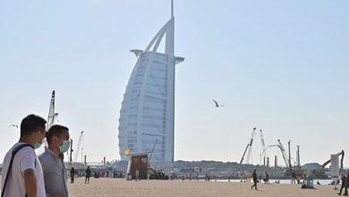 انخفاض أعداد السياح في دبي أكثر من 67 %
