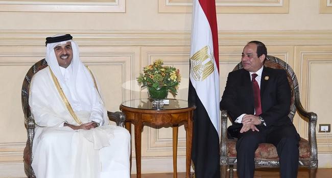 التقارب المصري القطري