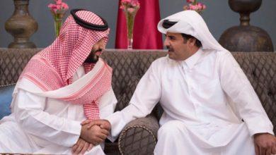 أمير قطر يزور السعودية ويجري محادثات مع ولي العهد