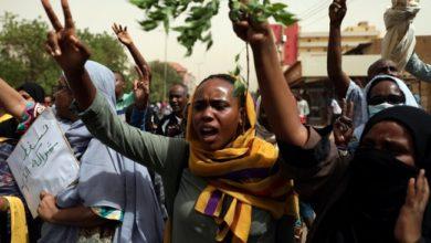 المتظاهرون في السودان