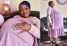 امرأة في جنوب إفريقيا