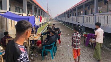 الروهينغا محاصرون في جزيرة بنغلادشية