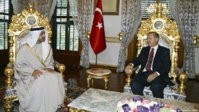 الإمارات تسعى لإعادة العلاقات مع تركيا ودول المنطقة
