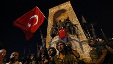 """أردوغان يحذر """"الخونة"""" في الذكرى الخامسة للانقلاب الفاشل في تركيا"""