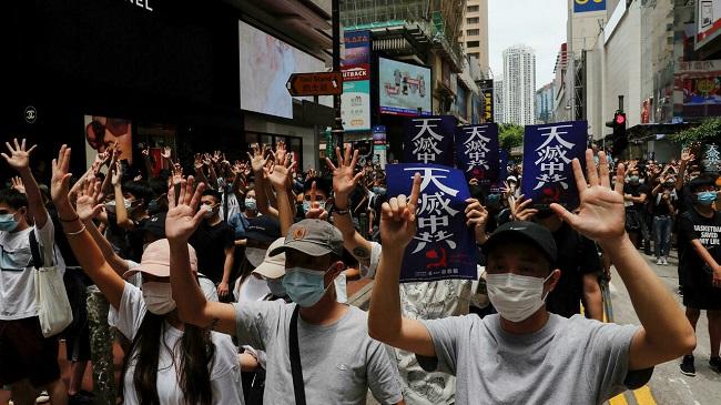 عقوبات أمريكية على مسؤولين صينيين بسبب قمع الديمقراطية في هونغ كونغ