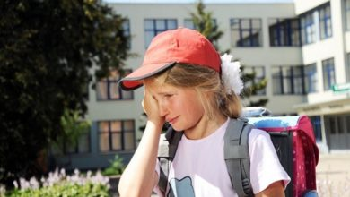 قلق العودة إلى المدرسة