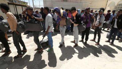 عودة عشرات المهاجرين الإثيوبيين من اليمن