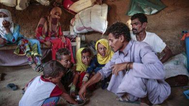 خمسة ملايين يمني على بعد خطوة واحدة من المجاعة